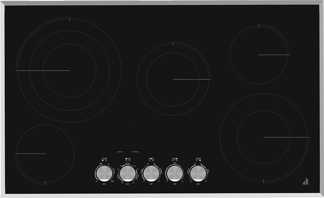 """JennAir® 37"""" Electric Radiant Cooktop-Stainless Steel-JEC3536HS"""