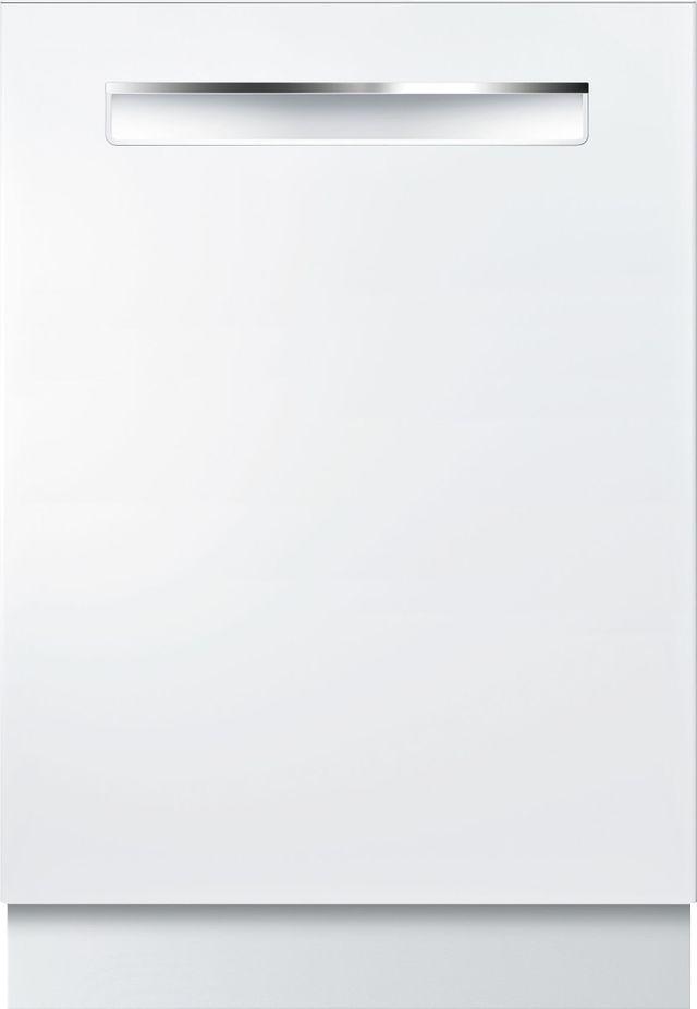 "Bosch 800 Series DLX 24"" White Built In Dishwasher-SHP878ZD2N"