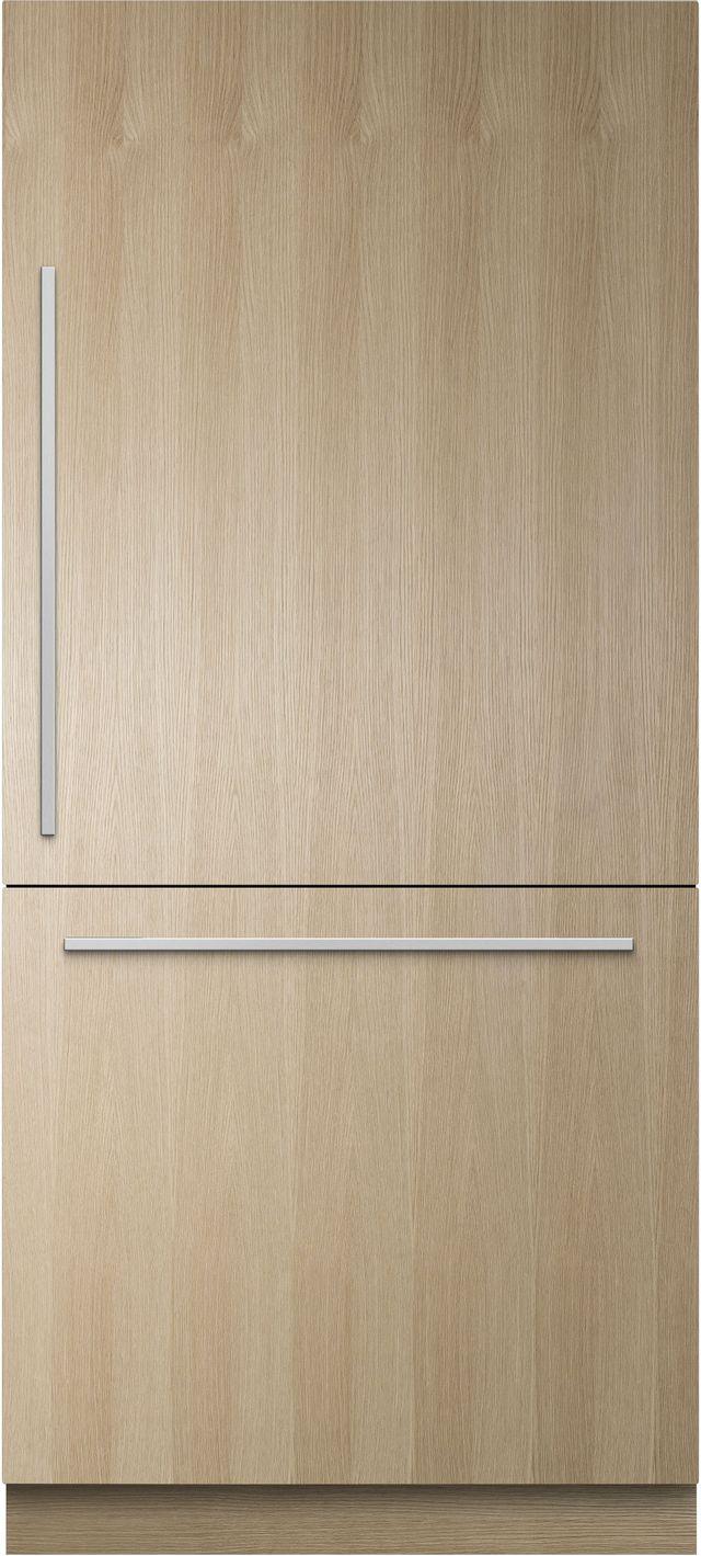 Réfrigérateur à congélateur inférieur de 36 po Fisher Paykel® de 16,8 pi³ - Prêt pour le panneau-RS36W80RJ1 N