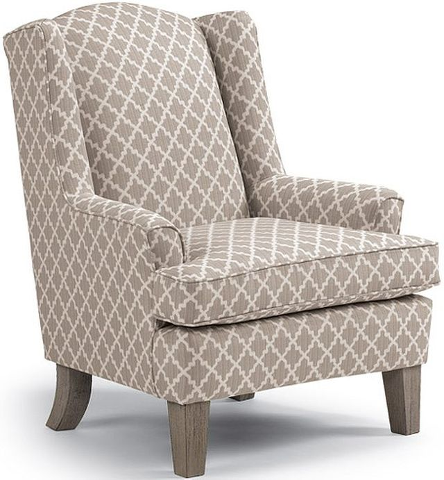 Best Home Furnishings Andrea Riverloom Wing Back Chair-0170R