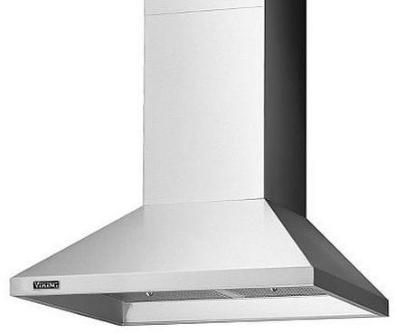 """Viking® 36"""" Chimney Wall Hood-Stainless Steel-RVCH336SS"""