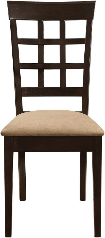 Coaster® Gabriel Cappuccino and Tan Upholstered Side Chairs (Set Of 2 )-100772