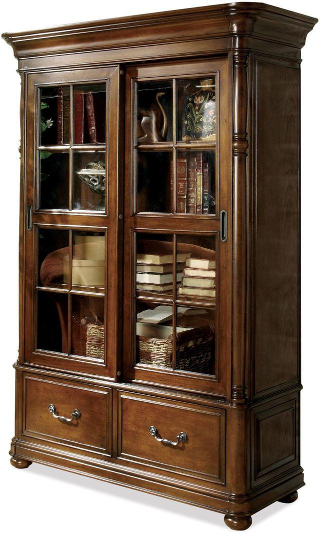 Riverside Furniture Bristol Court Sliding Door Bookcase-24537