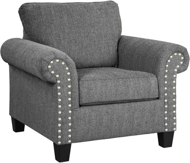 Benchcraft® by Ashley® Agleno Charcoal Accent Chair-7870120