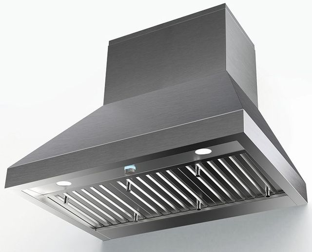 """Faber Camino Pro 47.94"""" Stainless Steel Wall Mounted Range Hood-CAPR48SS1200"""
