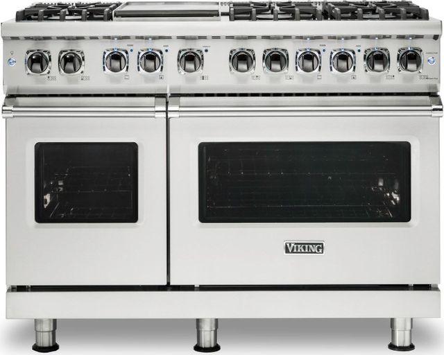 "Viking® Professional 5 Series 48"" Pro Style Dual Fuel Range-Stainless Steel-VDR5486GSSLP"