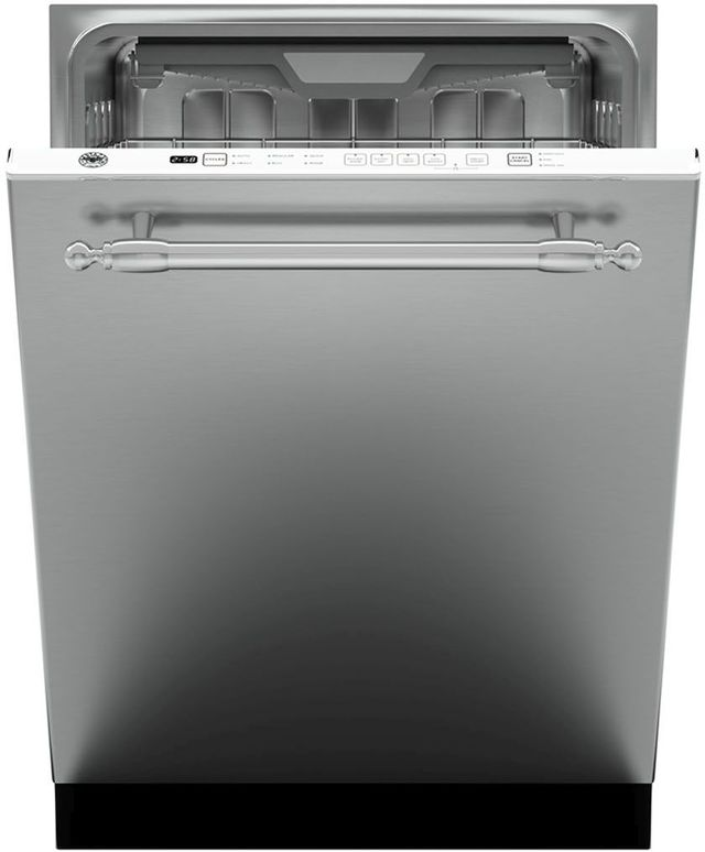 "Bertazzoni Professional Series 24"" Stainless Steel Built In Dishwasher-DW24XT"