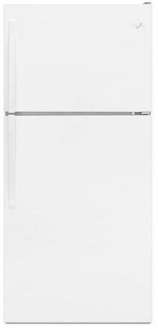 Whirlpool® 18.0 Cu. Ft. Top Freezer Refrigerator-White-WRT108FZDW