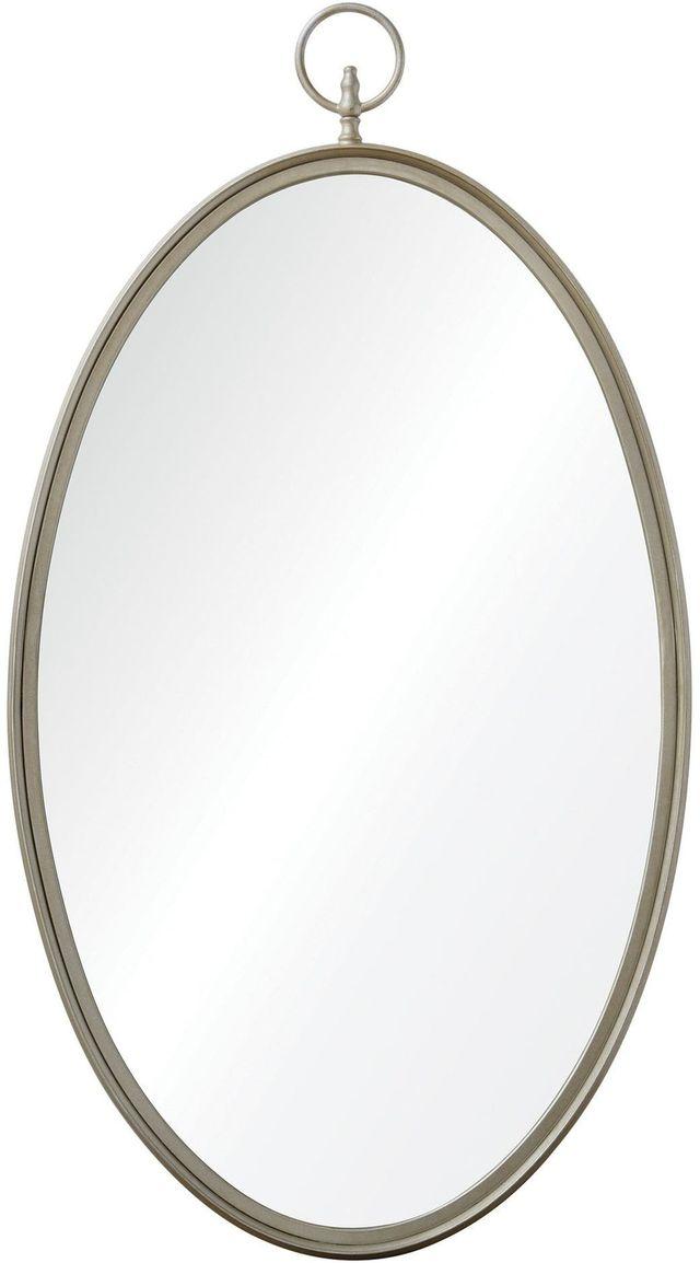 Miroir mural Port Jackson, champagne silver, Renwil®-MT1506