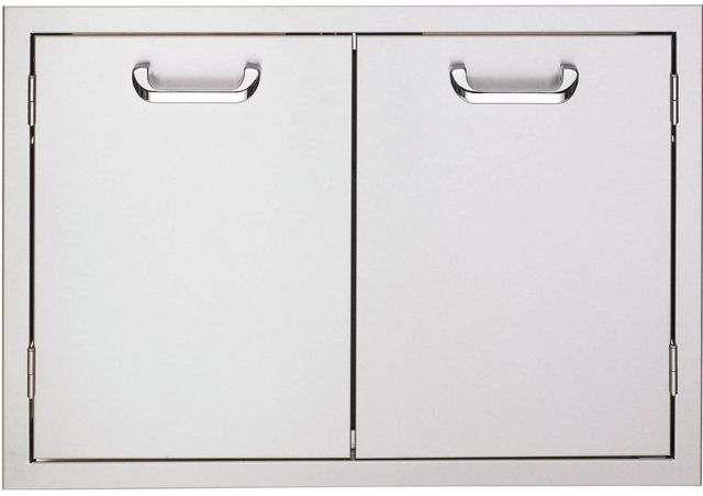 "Lynx® Sedona 36"" Double Access Doors-Stainless Steel-LDR636"