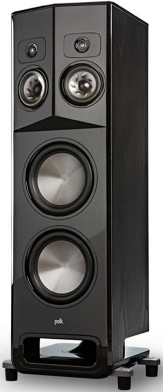 "Polk Audio® LEGEND L800 Black Ash 10"" Left Premium Floor Standing Tower Speaker-AM8680"