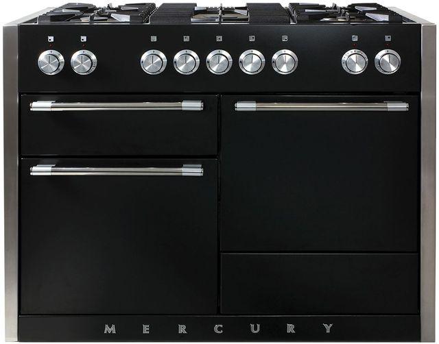 "AGA Mercury 48"" Matte Black Dual Fuel Range-AMC48DF-MBL"