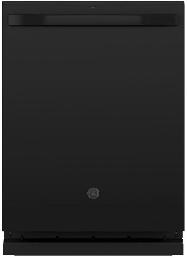 """GE® 24"""" Black Built In Dishwasher-GDT645SGNBB"""