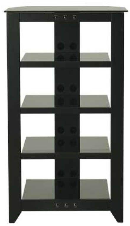 Sanus® Natural Series Black Audio Stand-NFA245-B1
