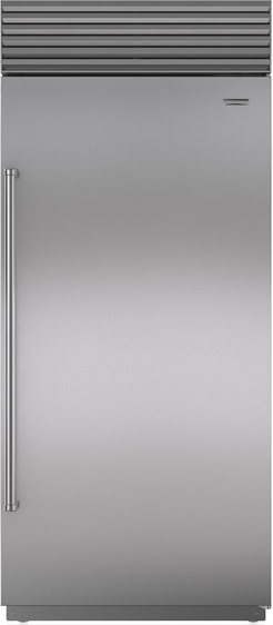 Sub-Zero® 23.5 Cu. Ft. Stainless Steel Built In Refrigerator-BI-36R/S/PH-RH