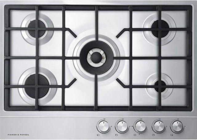 "Fisher & Paykel Series 7 30"" Stainless Steel Gas Cooktop-CG305DNGX1 N"
