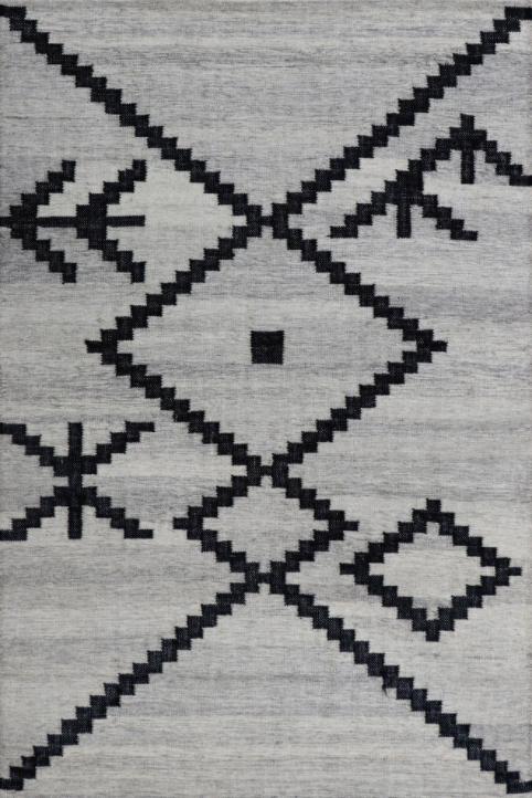 Tapis de zone Zaatar, beige/noir, Renwil®-RZAA-90801-912