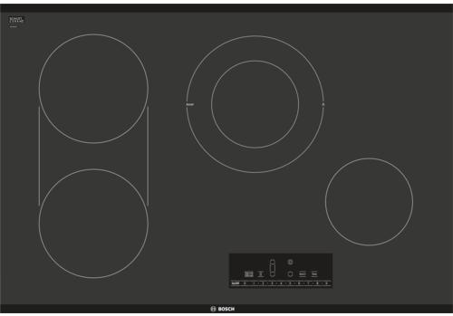 """Bosch 800 Series 30"""" Electric Cooktop-Black Frameless-NET8068UC"""