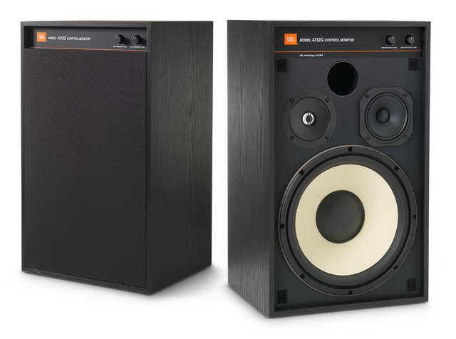 "JBL Synthesis® 3-way 12"" Studio Monitor Bookshelf Loudspeaker (Pair)-4312G"