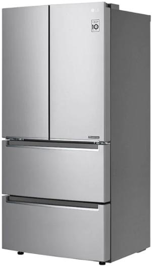 Réfrigérateur à portes françaises à profondeur de comptoir de 33 po LG® de 19,0 pi³ - Acier inoxydable résistant aux traces de doigts-LRMNC1803S