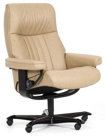 Stressless® by Ekornes® Crown Office Chair-1297096