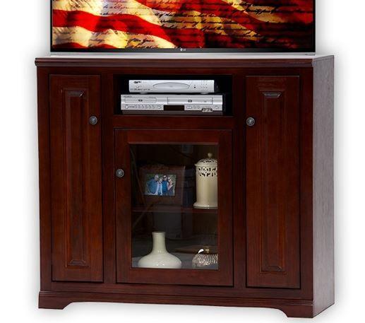 American Heartland Poplar Tall TV Stand-85848