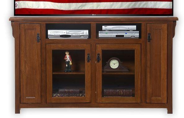 American Heartland Poplar Tall TV Stand-85863
