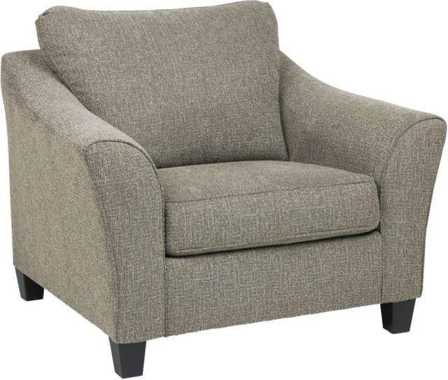 Benchcraft® Barnesley Platinum Chair and a Half-8690423