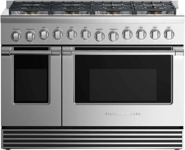 """Fisher Paykel 48"""" Pro Style Gas Range-Stainless Steel-RGV2-488L N"""