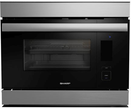 """Sharp® 24"""" Stainless Steel Convection Built-In Wall Oven-SSC2489DS"""