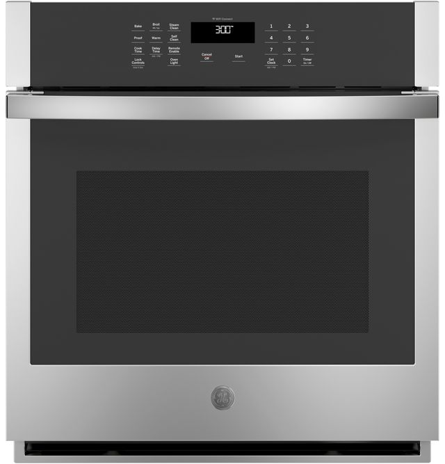 """GE® 27"""" Stainless Steel Electric Single Oven Built In-JKS3000SNSS"""