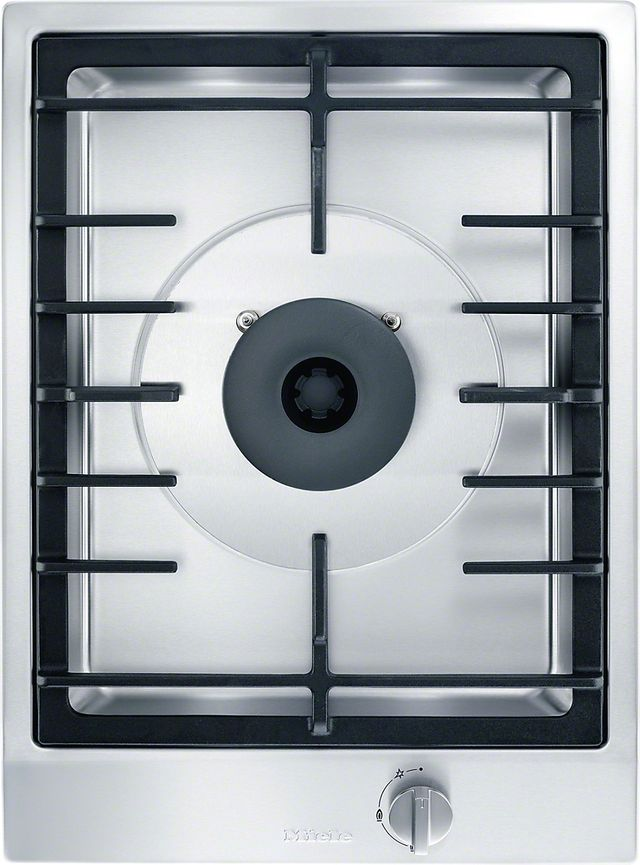 """Miele CombiSet™ 15"""" Stainless Steel Gas Wok Cooktop-CS1028G"""