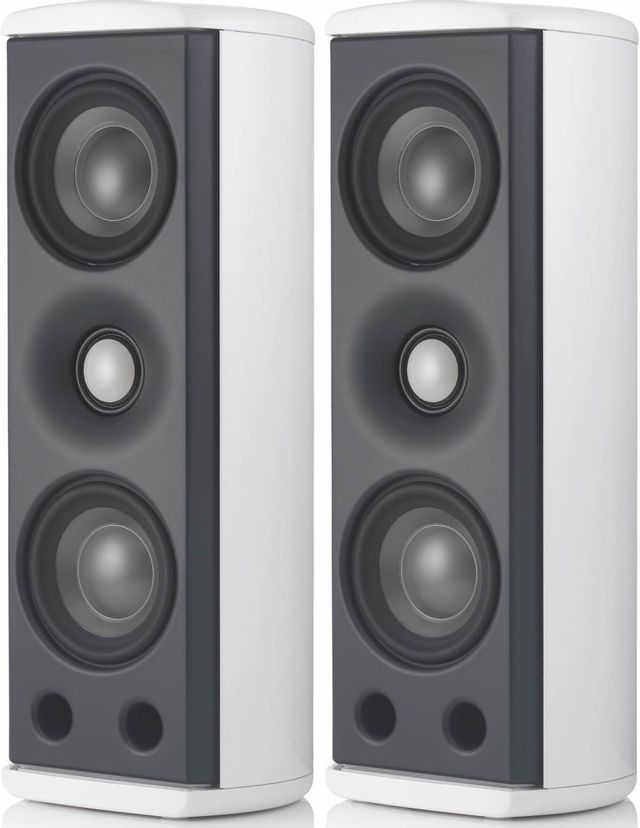 Revel® Concerta™ Series White Gloss 2-Channel Home Theater Sound Support System-REVM8SP2WHT