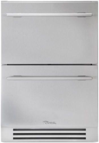 True® 4.2 Cu. Ft. Undercounter Freezer Drawer-Stainless Steel-TUF-24D-SS-B
