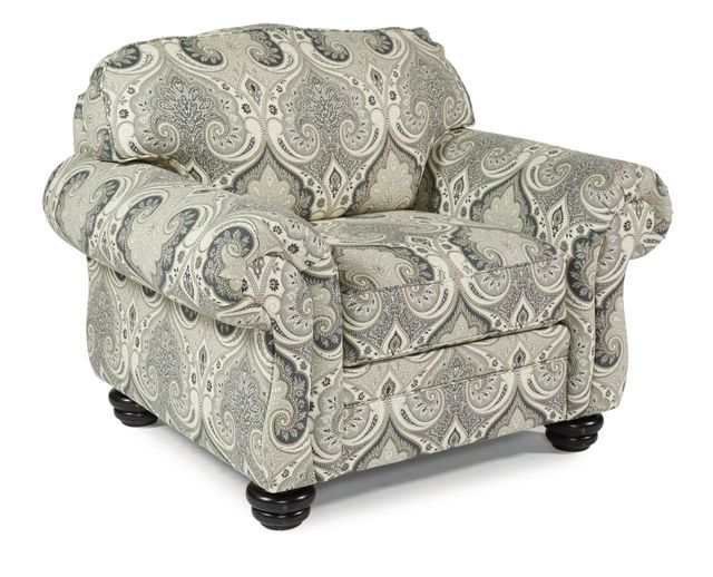 Flexsteel® Bexley One-Tone Fabric Chair without Nailhead Trim-8646-10
