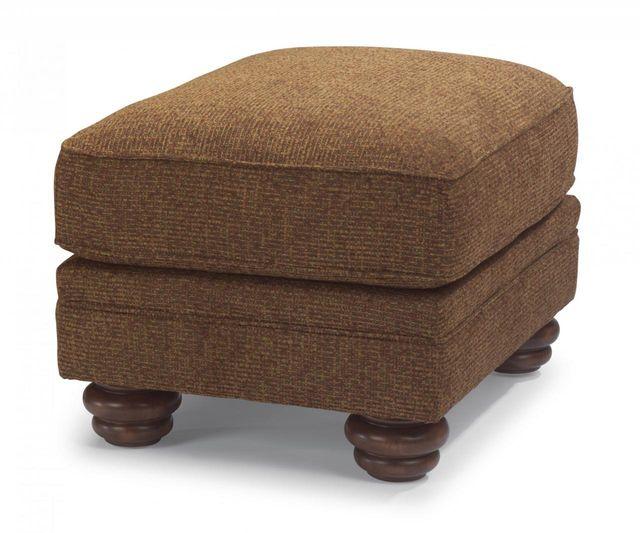 Flexsteel® Bexley One-Tone Fabric Ottoman-8648-08