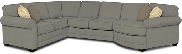 England Furniture Co. Brantley 4 Piece Culpepper Cement/Alvarado Mineral/Wise Heather Sectional-5630-28-22-43-95+8612+7977+8601