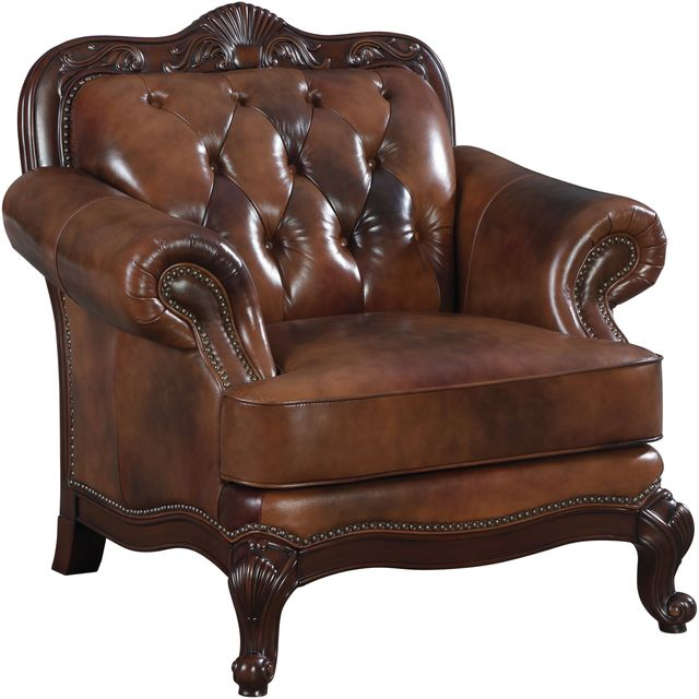 Coaster® Victoria Brown Chair-500683