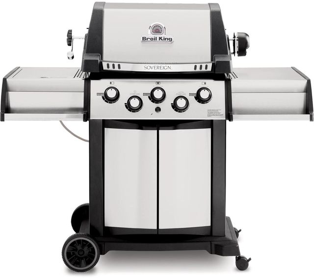 """Broil King® Sovereign™ 90 Series 24.4"""" Stainless Steel Free Standing Grill-987847"""