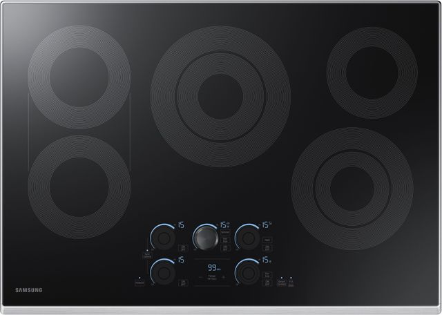 """Samsung 30"""" Electric Cooktop-Stainless Steel-NZ30K7570RS"""