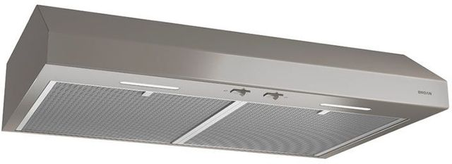 """Broan® Glacier BCSEK1 Series 30"""" Under Cabinet Range Hood-Slate-BCSEK130SL"""