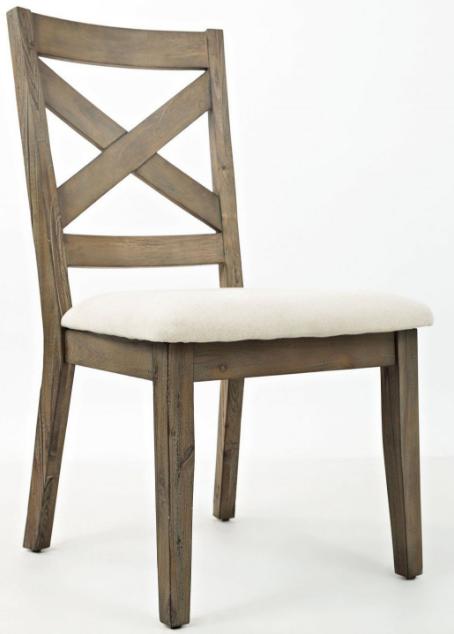 Jofran Inc. Hampton Road X-Back Dining Chair-872-628KD