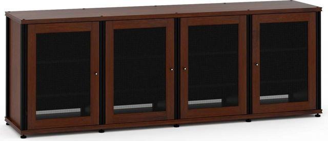 Salamander Designs® Synergy Model 347 AV Cabinet-Dark Walnut/Black-347W/B