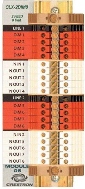Crestron® Terminal Block-CLT-2DIM8