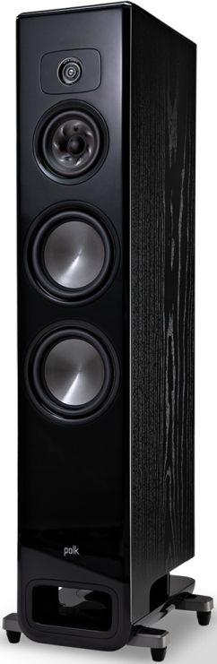"""Polk Audio® LEGEND L600 Black Ash 7"""" Premium Floor Standing Loudspeaker-AM8655"""