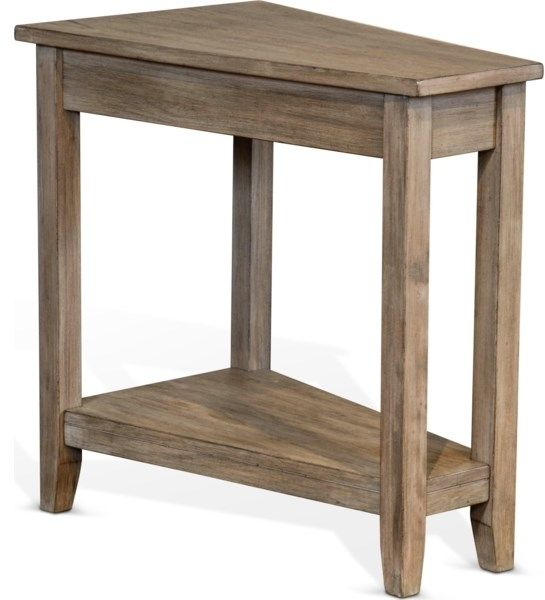 Sunny Designs Gray Wolf Chairside Table-2226GW