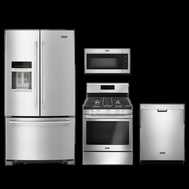 Maytag® 4 Piece Kitchen Package-Fingerprint Resistant Stainless Steel-MAKITMGR6600FZ