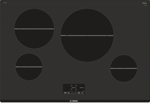 """Bosch 500 Series 30"""" Induction Cooktop-Black-NIT5068UC"""