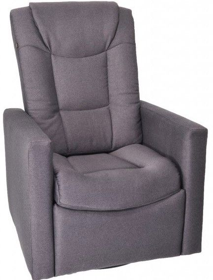 Fauteuil inclinable NEO en tissu gris PEL International®-213454