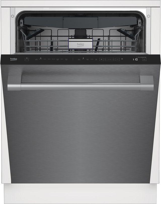 "Beko 24"" Fingerprint Free Stainless Steel Built In Dishwasher-DDT38530XWS"